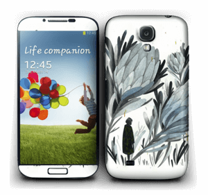 A skin in darker colors and mystic for your Galaxy S4
