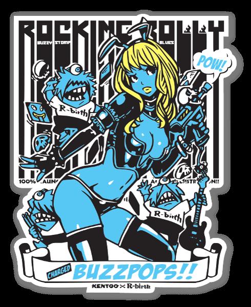 BUZZPOPS RR sticker