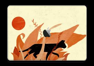 A skin with a black cat