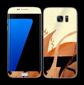 Amanecer vinilo  Galaxy S7 Edge