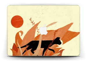 Black cat skin for your device