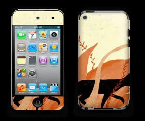 Skin till din laptop, iPad eller mobiltelefon med svart katt