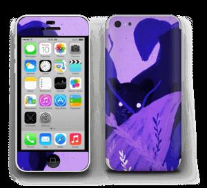 Zwarte kat II Skin IPhone 5c