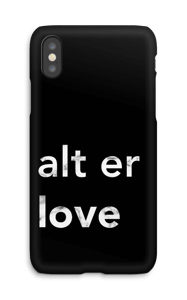 alt er love deksel IPhone X