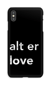 alt er love deksel IPhone XS Max