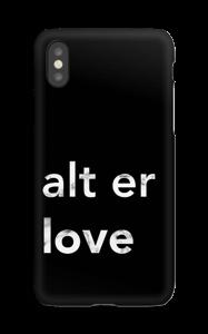alt er love deksel IPhone XS