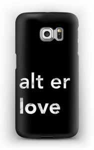All is love case Galaxy S6 Edge