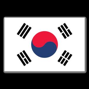 Südkorea Flagge sticker