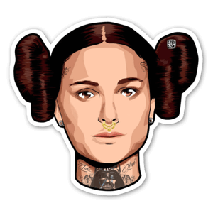MAYTHE4TH sticker