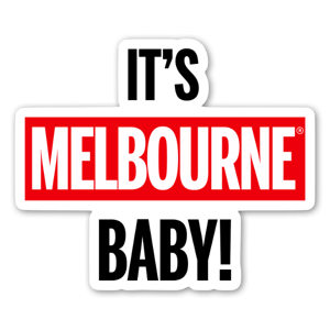 MELBOURNE!!!  sticker