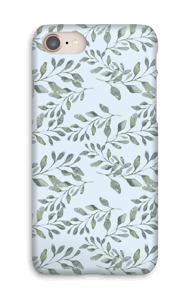 Leaf pattern case IPhone 8