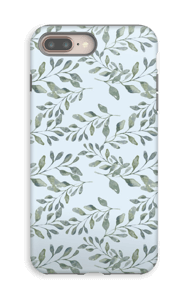 Leaf pattern case IPhone 8 Plus tough