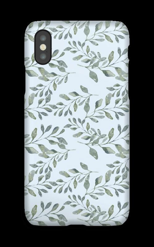 Bladmønster deksel IPhone X