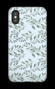 Bladmønster deksel IPhone X tough