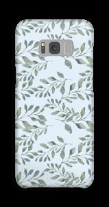 Bladmønster deksel Galaxy S8 Plus