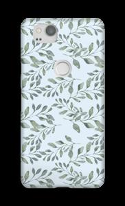 Blattmuster Handyhülle Pixel 2