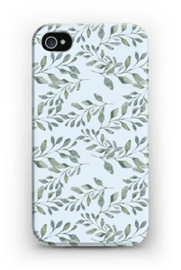 Leaf pattern case IPhone 4/4s