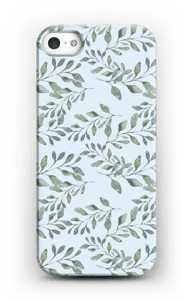 Leaf pattern case IPhone 5/5S