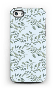 Leaf pattern case IPhone 5/5s tough