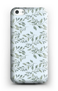Leaf pattern case IPhone 5c