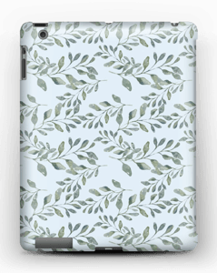Leaf pattern case IPad 4/3/2