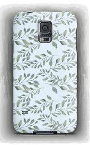 Blattmuster Handyhülle Galaxy S5
