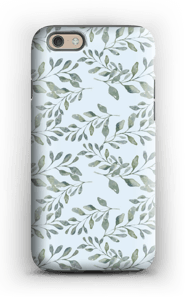 Leaf pattern case IPhone 6 tough