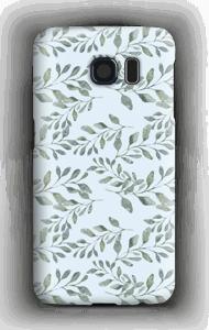 Blattmuster Handyhülle Galaxy S6