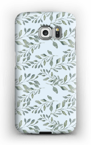 Leaf pattern case Galaxy S6 Edge