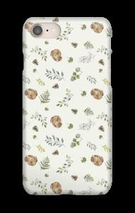 Metsä kuoret IPhone 8