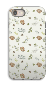 Woodland pattern case IPhone 8 tough