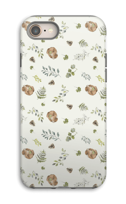 Woodland pattern case IPhone 8 tough