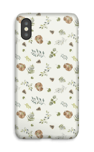 Woodland pattern case IPhone X