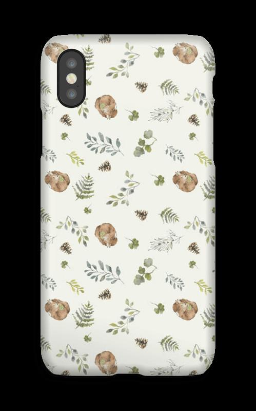 Skogsmønster deksel IPhone X