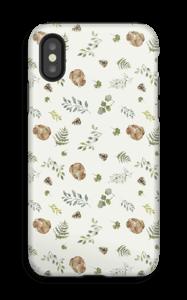 Skogsmønster deksel IPhone X tough