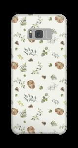 Skogsmönster skal Galaxy S8 Plus