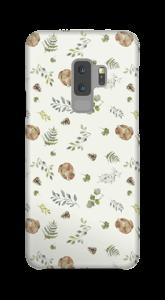 Skogsmönster skal Galaxy S9 Plus