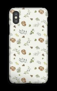 Skogsmønster deksel IPhone XS