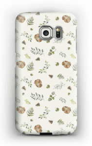 Woodland pattern case Galaxy S6 Edge