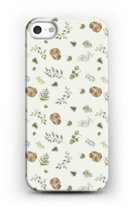 Woodland pattern case IPhone SE