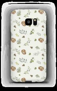 Skogsmønster deksel Galaxy S7 Edge
