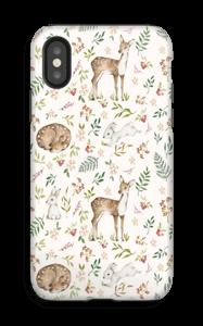 Dyr og natur deksel IPhone X tough