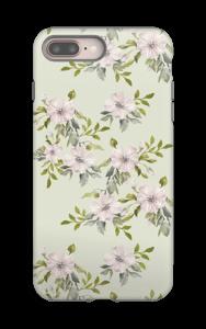 Pink flowers  case IPhone 8 Plus tough