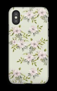 Rosa blomster deksel IPhone X tough