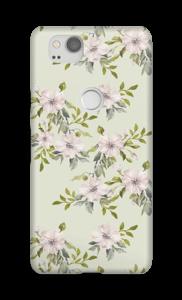 Rosa blommor skal Pixel 2