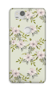 Rosa Blumen Handyhülle Pixel 2