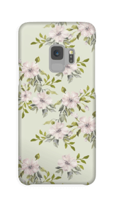 Rosa Blumen Handyhülle Galaxy S9