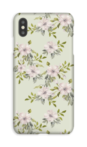 Pink flowers  case IPhone XS Max