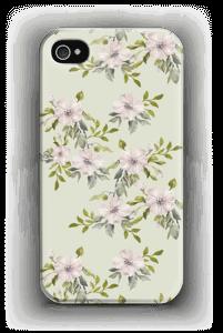 Rosa blommor skal IPhone 4/4s