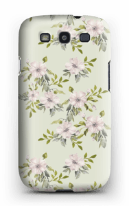 Lyserøde blomster cover Galaxy S3